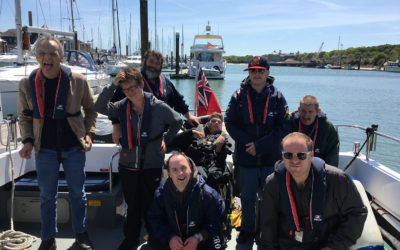 Adults with learning disabilities learn new skills afloat